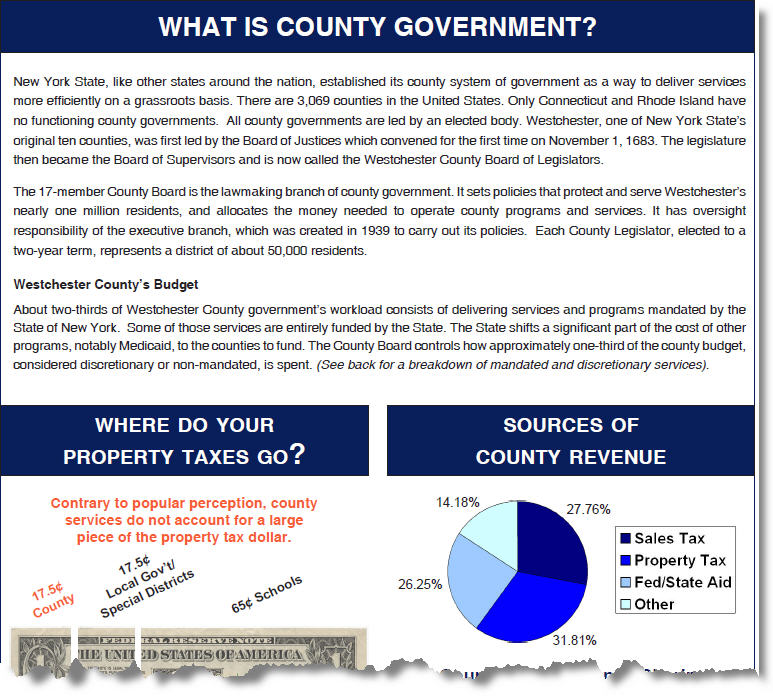 Role of County Government Handout